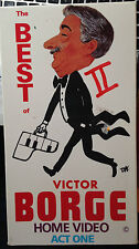 The Best of Victor Borge Home Video Act One (VHS) 1990 live performance; 45 min.