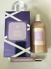 NIB Women's Ari by Ariana Grande Bubble Bath & Eau De Parfum Roller Gift Set