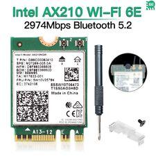 Intel AX210 WiFi 6E M.2 wifi Card Dual Band AX210NGW Wireless Bluetooth 5.2 Card