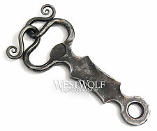 Hand-Forged Viking Bottle Opener -- Norse/Celtic/Medieval/Pendant/Iron/Steel