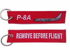 P-8A Poseidon Remove Before Flight Key Ring Luggage Tag