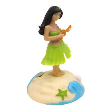 Solar Powered Car Dashboard Home Ornament Swing Dancing Toy Grass Skirt Girl