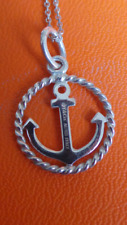 Tiffany And Co Anchor Pendant Necklace