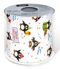 Topi Toilettenpapier bedruckt Design Pinguin Weihnachten Geschenk Klopapier Neu