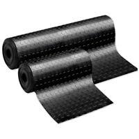 Tappeto gomma antiscivolo nero passatoia rivestimento pavimento bolle pedana pvc