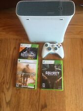 New listing Microsoft Xbox 360 White Console with Games and 1 Controller