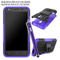 ALCATEL PIXI 4 (5.0) 4G 5045X HEAVY DUTY TOUGH SHOCKPROOF STAND HARD CASE COVER