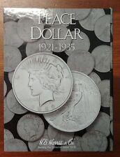 New Harris and Co Peace Silver Dollar Album Folder