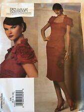 Vogue Pattern Designer Original Bellville Sassoon Misses Fitted Dress Size 6-12