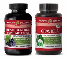 Weight loss for men belly fat - RESVERATROL – GRAVIOLA COMBO - graviola capsules
