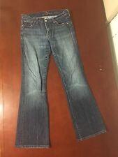 7 For All Mankind Women's Bootcut Jeans Waist 27 Inseam 30 Medium Wash