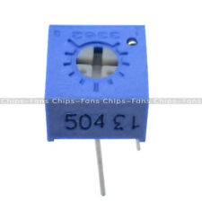 10PCS 3362P-504 3362P 500K ohm High Precision Variable Resistor Potentiometer