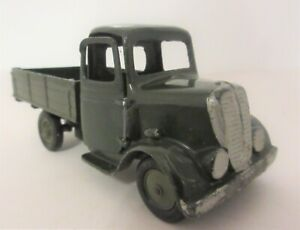 BRITAINS LTD Army Round Fronted Four Wheeled Tipper Lorry (2)