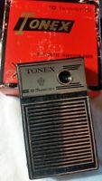 Vintage Tonex Transistor 10T Radio with Original Box