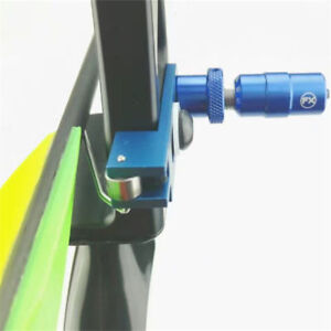 Arrow Rest + Cushion Plunger Pressure Set Recurve Bow Magnetic Takedown Archery