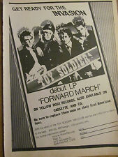 Toy Soldiers, Forward March, Full Page Vintage Promotional Ad