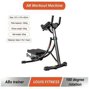 AB Workout Machine Coaster Abdominal Trainer Exercise Machine Body Core Workout