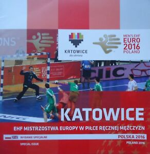 Programm Handball Special Issue Men's Euro 2016 Polska Poland Katowice