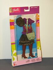 Barbie Beat Street Fashion Outfit #C4005 2003 Skirt, Top, Hat, Purse, Tall Boots