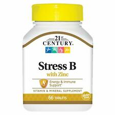 21st Century Stress B Tablets with Zinc, 66 Count (Compare to Stresstabs)
