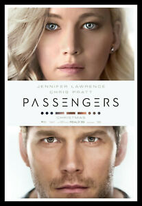 Passengers Movie Poster Print & Unframed Canvas Prints
