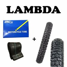 Vee Rubber 6 Ply Knobby Trail Tyres x2 & Tubes x2 for Honda CT110 Posties 300-17