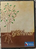 Analytical Grammar 4 DVD Set AFS Units1-35 Course Homeschool 2011 7 HRS Grade6&^