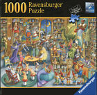 Ravensburger 1000 Piece Premium Jigsaw Puzzle - MIDNIGHT AT THE LIBRARY