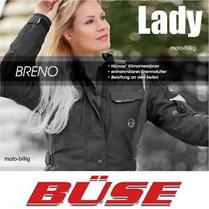 Büse Motorradjacke Breno Damen schwarz wasserdicht Thermo Motorrad Textil Jacke