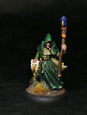 Painted Miniature Reaper Wizard Mage Necromancer Warlock for D&D Pathfinder