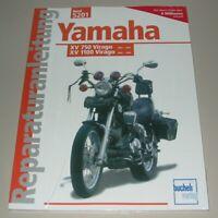 Reparaturanleitung Yamaha 750 Virago XV 1100 Virago 1989 - 1999 Bucheli Buch NEU