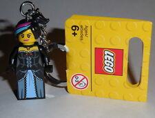 """KEY CHAIN Lego The Lego Movie """"WILD WEST WYLDSTYLE"""" NEW 71004 Handmade"""
