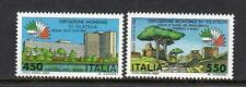ITALY MNH 1984 SG1837-1838 ITALIA 85 - INT STAMP EXHB ROME