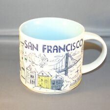 starbucks san francisco been there collectors 14 oz. mug NWT