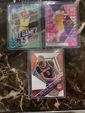 2019-20 Mosaic ANTHONY DAVIS Pink Camo Mosaic + Green GG 3-card LOT Lakers