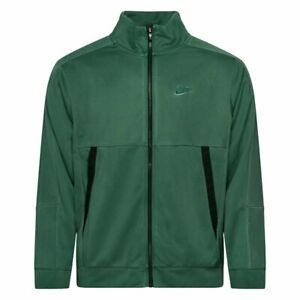 Nike Sportswear Men's Jersey Jacket Full Zip Green Move To Zero Natural Dye S M