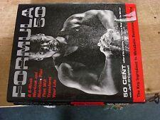 Formula 50 Workout Plan book 50 Cent Curtis Jackson Hand signed SGC authentic