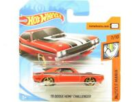 Hotwheels 70 Dodge Hemi Challenger Muscle Mania Short Card 1 64 Scale Sealed New