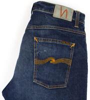 NUDIE Jeans Men Dude Dan Stretch Jeans Size W32 L28 AGZ830