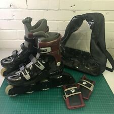 Zombie Skaight Inline Rollerblades Skates UK Size 6-7