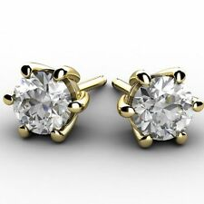 Butterfly Yellow Gold 18Carat VS1 Fine Diamond Earrings