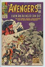 1965 MARVEL THE AVENGERS #14 WATCHER APPEARANCE  FN+    S1