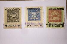 Italien/Italy Fiume Briefmarken/Stamps Rare !