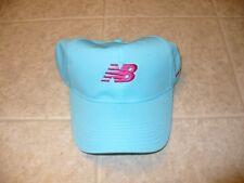 New Balance aqua blue and pink one size fits most women's hat