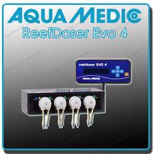 AQUA MEDIC REEFDOSER EVO 4 DOSING PUMP FOUR CHANNEL REEF DOSER FISH TANK CORAL