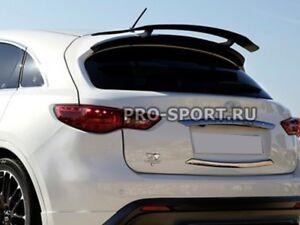 for Infiniti FX35/37/50 2008 2009 2010-2013 / QX70 upper trunk spoiler frp