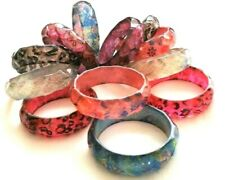 Wholesale Job lot 120 Bangles Bracelets Jewellery Accessories - New & Packaged