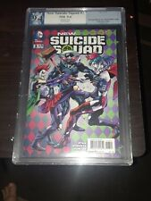 NEW SUICIDE SQUAD #3 Hitch VARIANT GRADED 9.4 PGX WHITE PAGES HARLEY QUINN WOW!