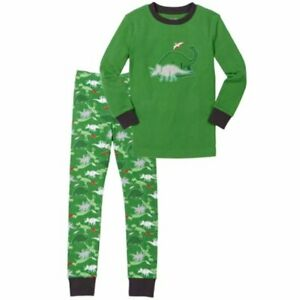 Kirkland Signature Kids (Boys/Girls) 2-Piece Organic Cotton Pajama Set