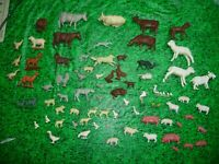MARX  FARM ANIMAL HUGE  LOT DEAL ............